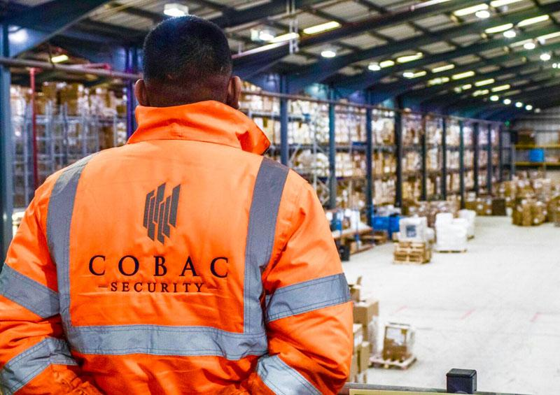 cobac logistics security officer in warehouse